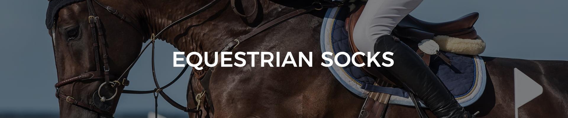 Equestrian socks