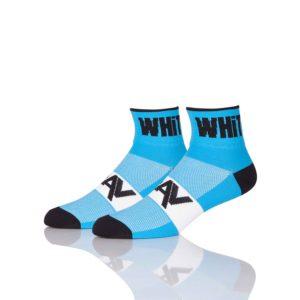 3 Inch Sky Blue Cycling Socks