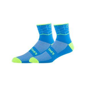 Teal Cycling Socks
