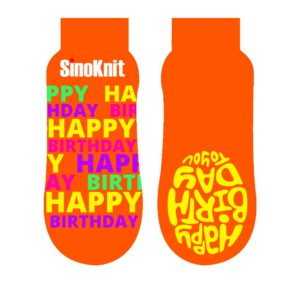 Inflatable World Thin Grip Trampoline Jump Socks