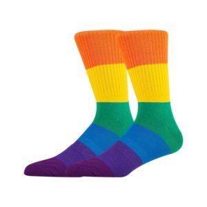 Rainbow Gym Socks